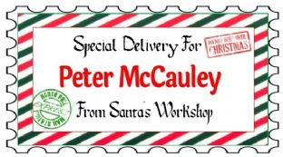 10 Large Special Delivery Christmas Gift Sticker